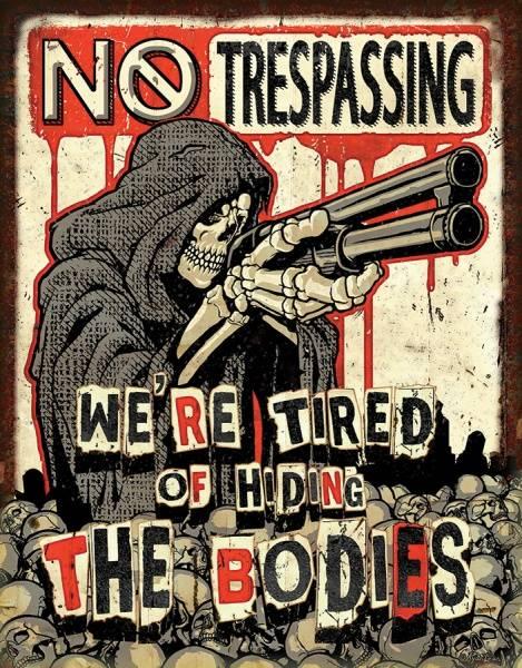 Bilde av No Trespassing Bodies