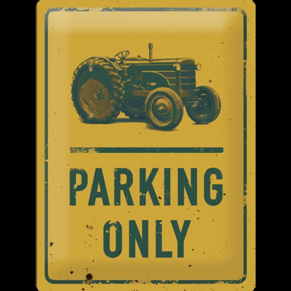 Bilde av Tractor Parking Only