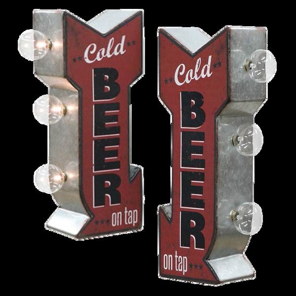 Bilde av Cold Beer LED Mini Skilt
