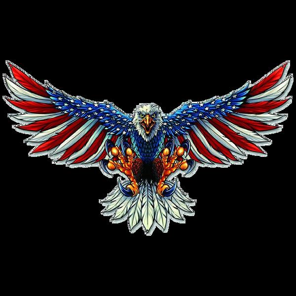 Bilde av Eagle With US Flag