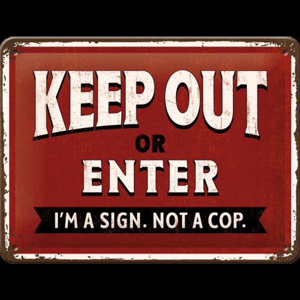 Bilde av Keep Out Or Enter