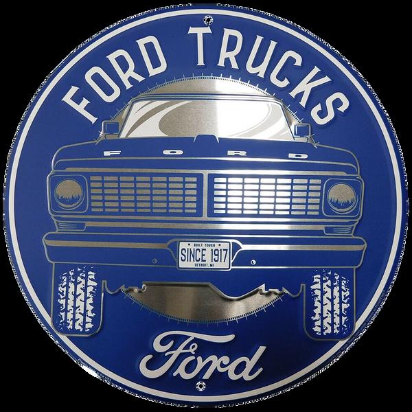 Bilde av Ford Trucks Since 1917 Round Small