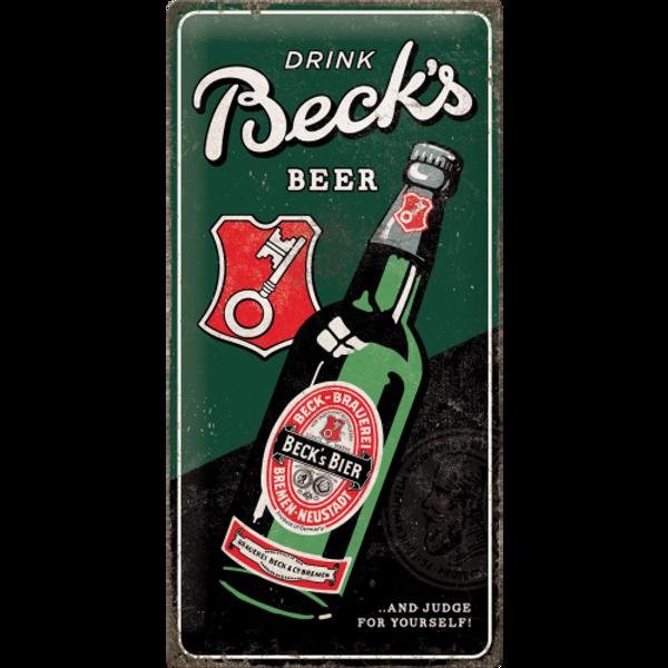 Becks Drink Beer Bottle