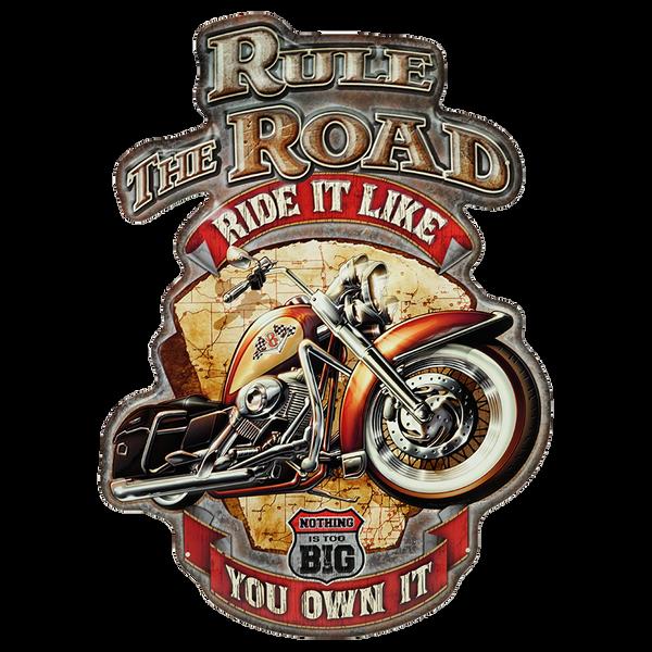 Bilde av Rule The Road Diecut