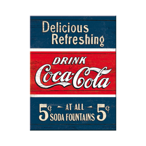 Bilde av Coca-Cola Delicious Refreshing Blue