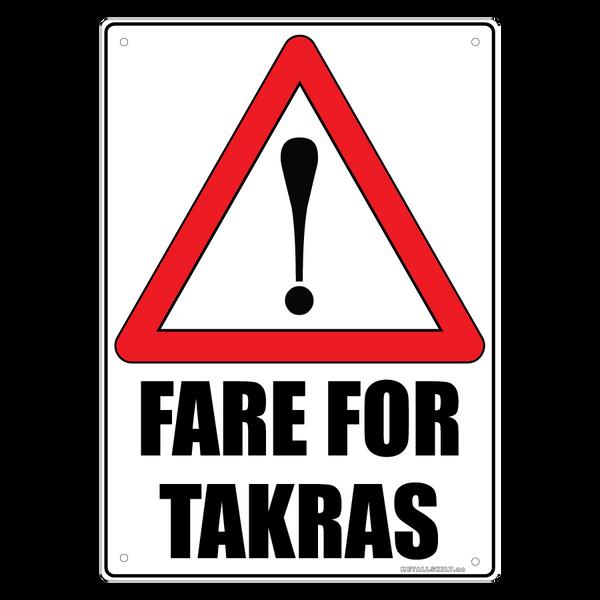 Bilde av Fare for Takras A4