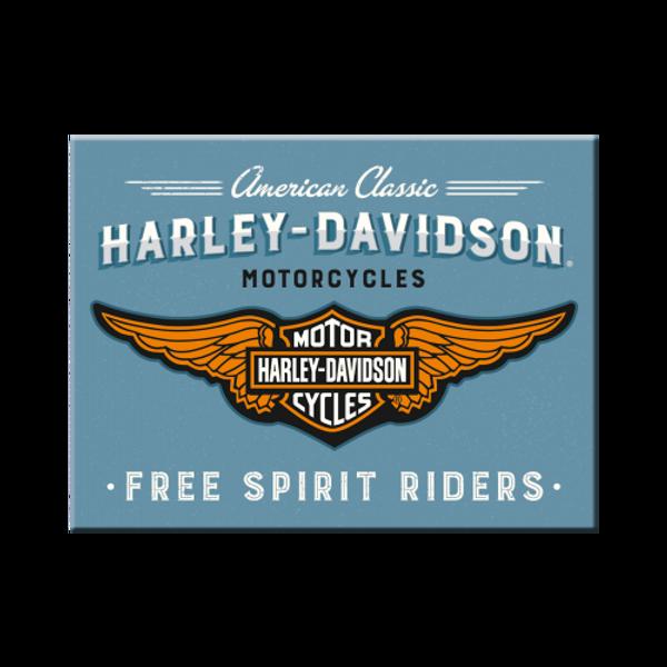 Bilde av Harley-Davidson Logo Blue