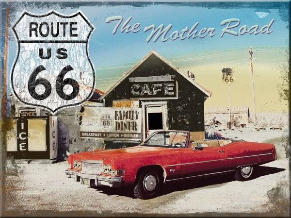 Bilde av Route 66 Cadillac