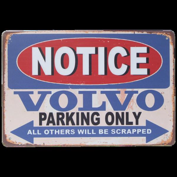 Bilde av Notice Volvo Parking