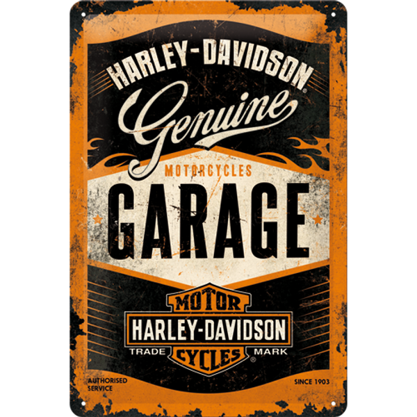 Bilde av Harley-Davidson Garage A4