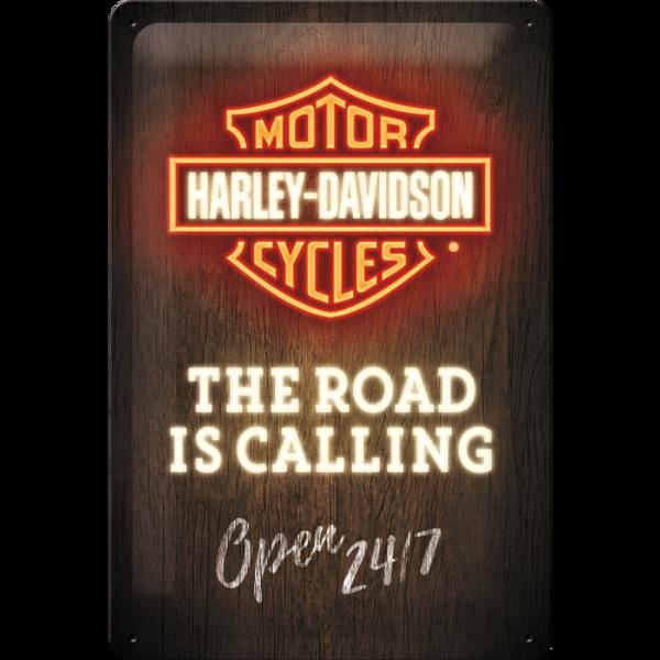 Bilde av Harley-Davidson Road is Calling Neon