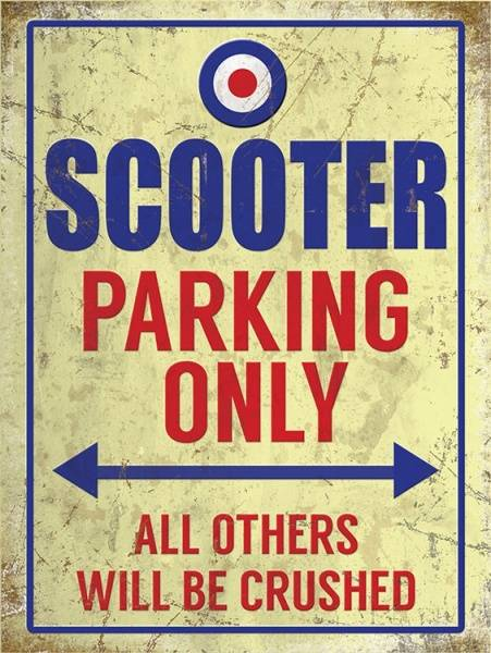 Bilde av Scooter Parking Only